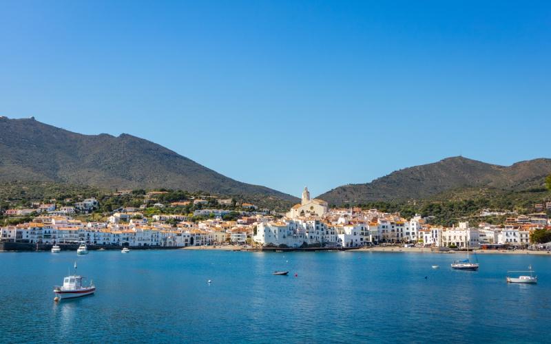 Vue du paysage de Cadaqués