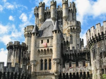 Le château de Butrón, la grande fantaisie romantique du Pays Basque