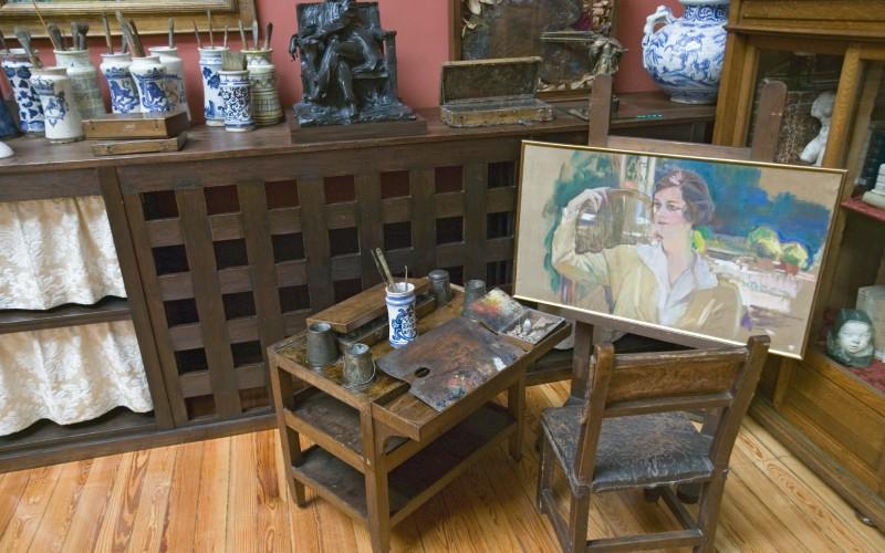 Ancien atelier du peintre Joaquín Sorolla au musée Sorolla de Madrid