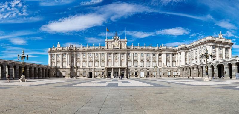 Place d'armes du Palais Royal de Madrid