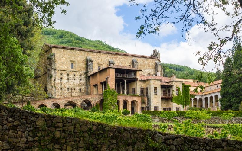 Le monastère de Yuste est le lieu choisi par Charles pour passer les dernières années de sa vie