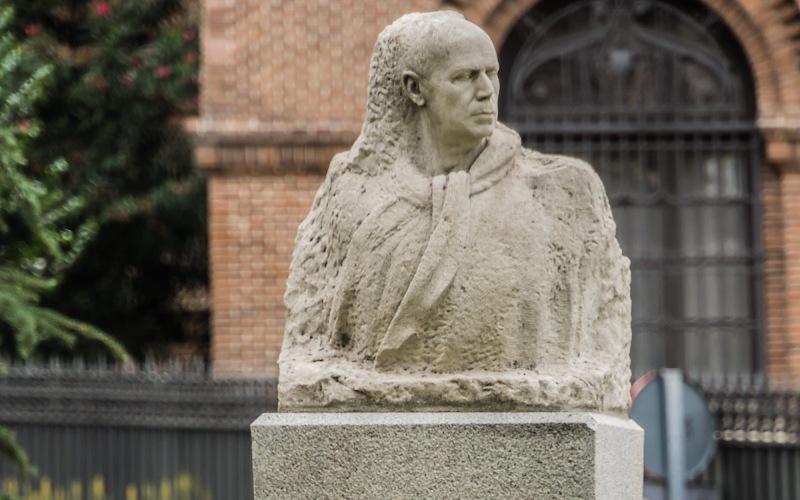 Buste de l'artiste Ignacio Zuloaga