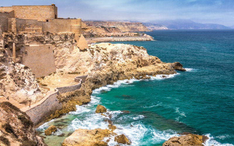 Côte sauvage de Melilla