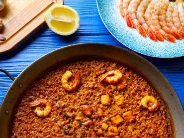 Paella du Seigneur ou Arroz del Senyoret, l'une des paellas traditionnelles d'Alicante