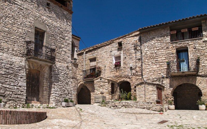 Les maisons de Montfalcó Murallat