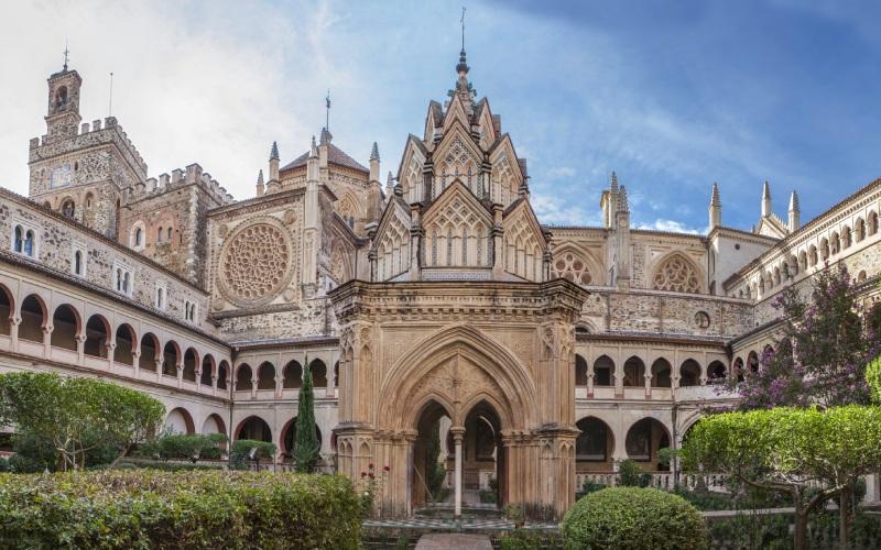 Cour intèrieure du Monastère royal Nuestra Señora de Guadalupe