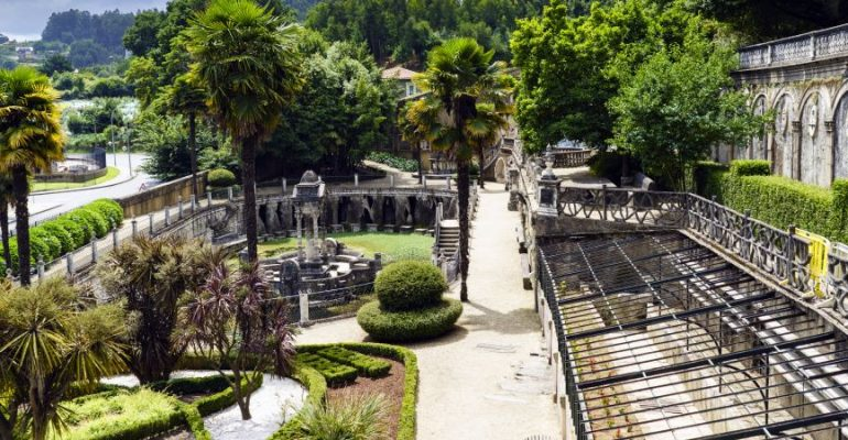 Le parc Pasatiempo ou du passe-temps, au service de Betanzos
