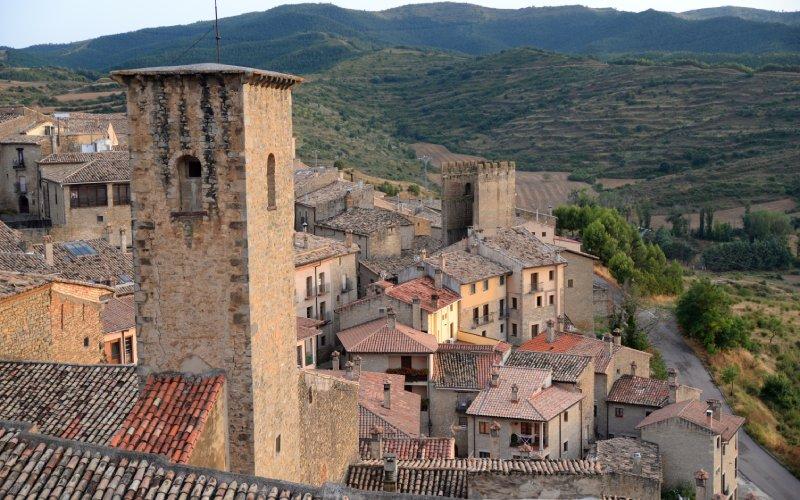 Le château de Sos del Rey Católico est celui qui donne son nom au village