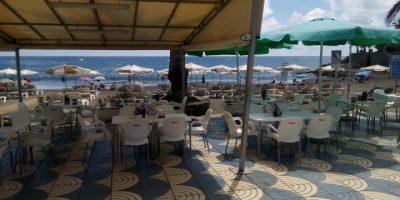 comer playa mogan taurito terraza