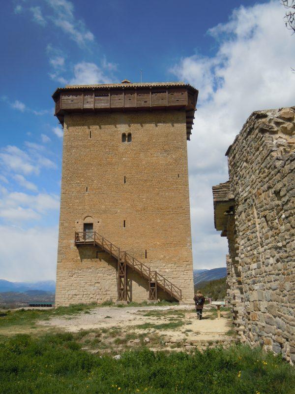 Tour du château d'Abizanda