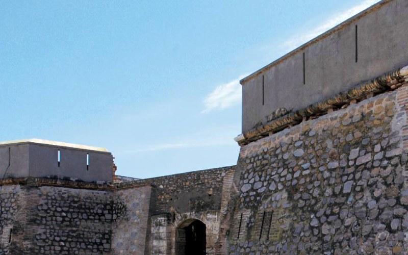 Château de Carchuna près de Torrenueva