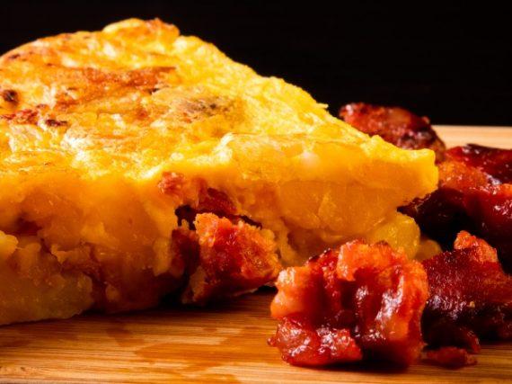Omelette espagnole au chorizo