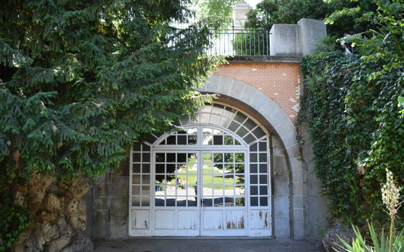 Tunnel Bonaparte dans les jardins du Campo del Moro