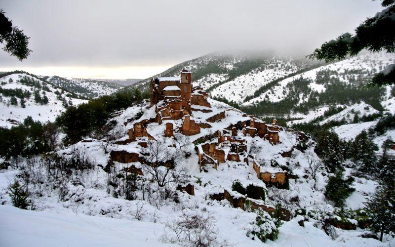 Turruncún en hiver