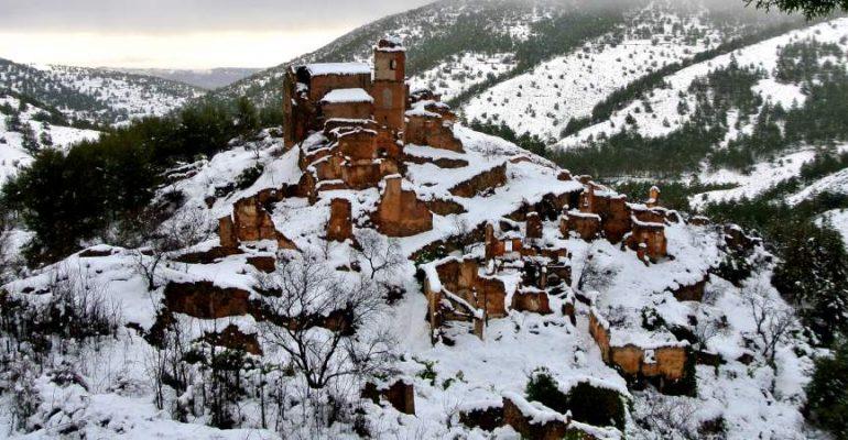 Turruncún, un très beau village fantôme en pleine Basse Rioja