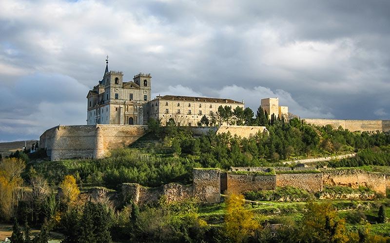 Fortificaciones y monasterio de Uclés, en Cuenca