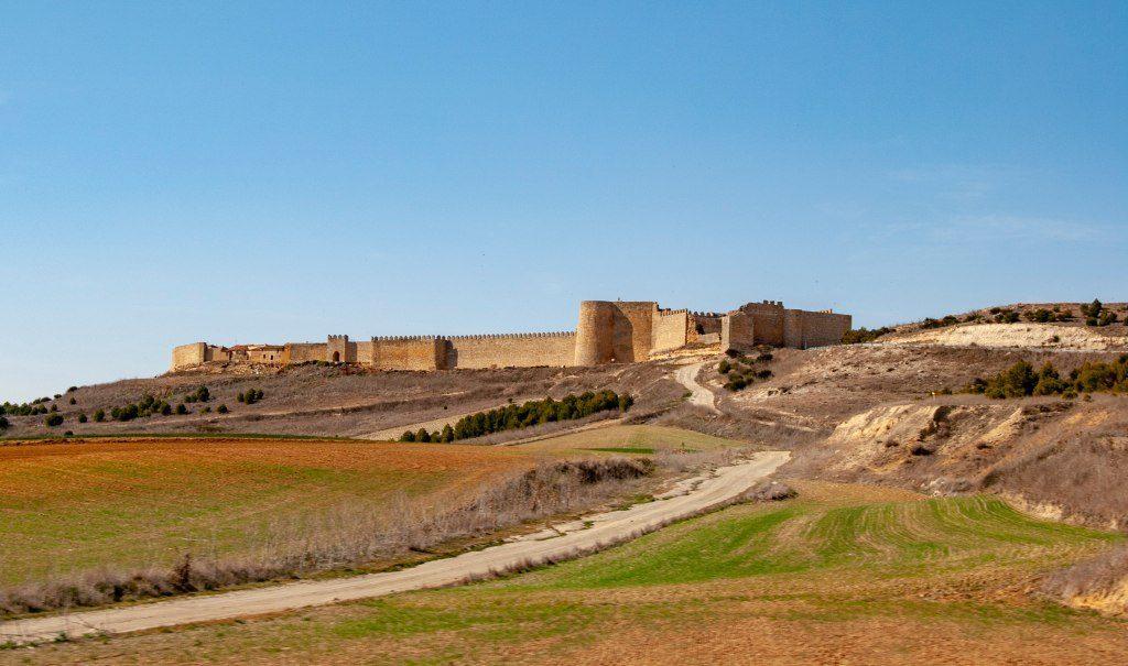Les murailles et le château d'Urueña