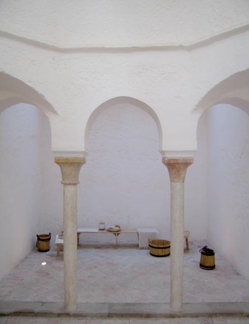 Les bains de l'Almirante à Valence