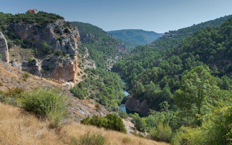 Les montagnes de Cuenca et la fenêtre du diable