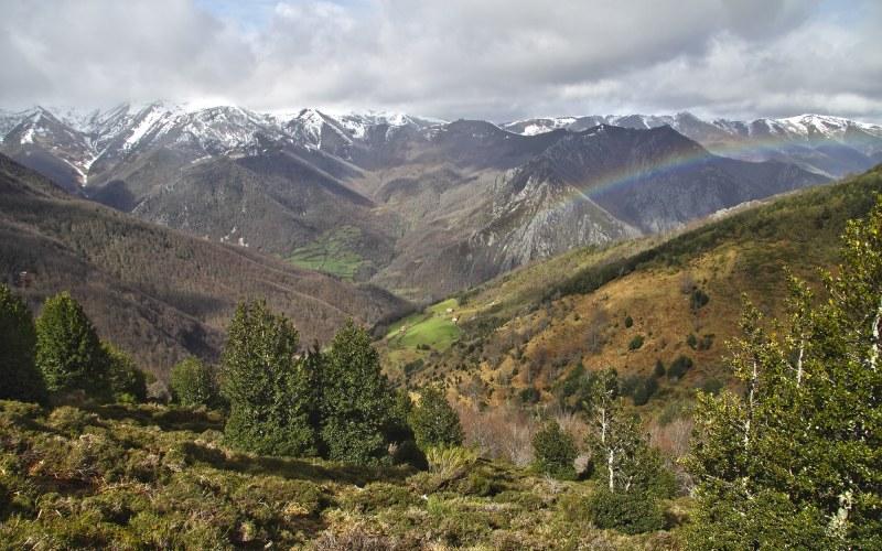 Les vues des vallées asturiennes sont à couper le souffle