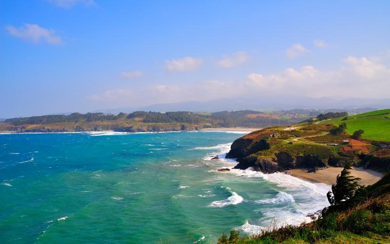 La vue depuis le Cap San Agustin