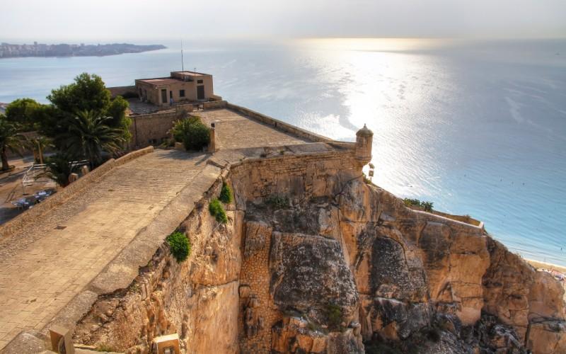 Belvédère du château de Santa Bárbara
