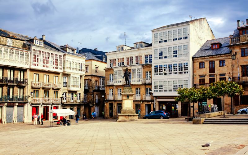 Place principale de Viveiro