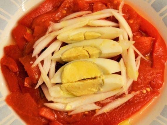 Recette de zorongollo, la salade de poivrons d'Estrémadure
